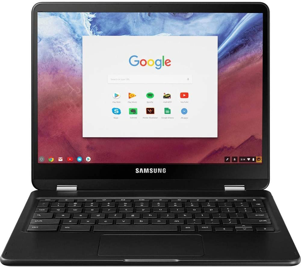 Samsung XE510C25-K01US Chromebook Pro 4GB Memory 32GB HDD Touchscreen with Backlit Keyboard (Renewed)
