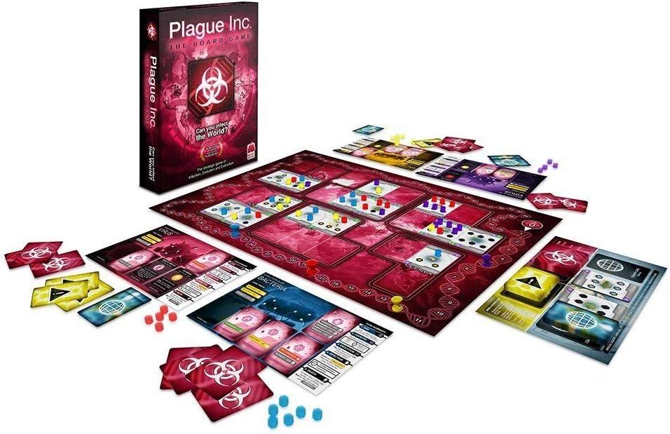 Ndemic Creations Plague Inc. The Board Game - Juego de Mesa (Idioma español no garantizado): Amazon.es: Juguetes y juegos