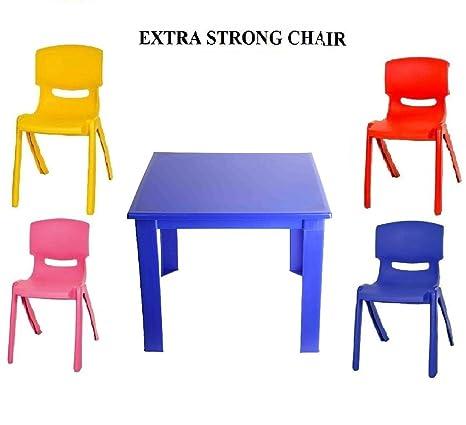 Tavolo E Sedie Per Bambini Da Esterno.Toyo Premium Set Con Tavolo E Sedie In Plastica Per Bambini