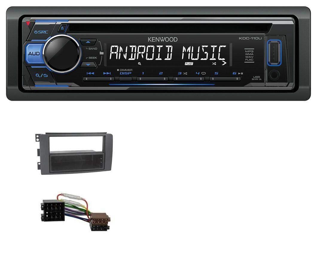 JUST SOUND best choice for caraudio Einbauset f/ür BMW 3er E36 DAB+ Digitalradio Antenne JVC KD-DB67 DAB+ USB Autoradio inkl