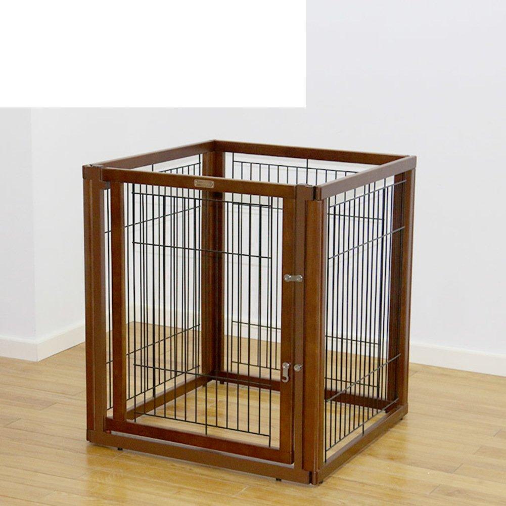 折り畳み式の金属製犬クレート,ペットのケージ フェンス 犬ケージ 小型、中型犬の犬小屋 ペット犬小屋大オープン犬小屋屋内犬クレート トレイ 屋外犬のクレート パッド-E B07CVT1VP4 16885 E E