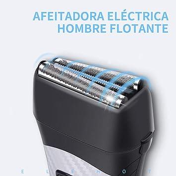 Afeitadora Eléctrica Flotante Máquina de Afeitar de Lámina ...