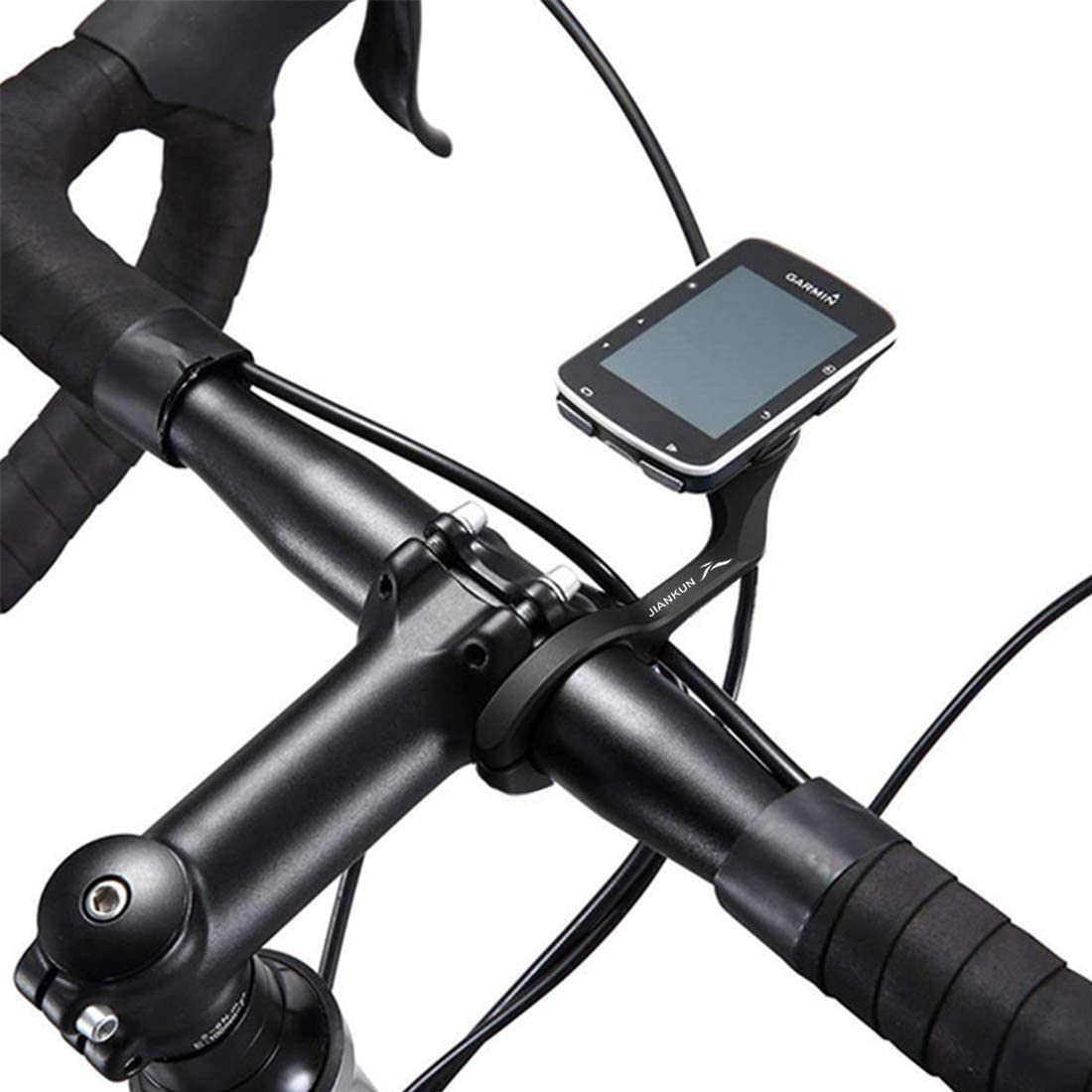 2 Colors Durable Plastic Bicycle Handlebar Computer GPS Mount for Garmin Edge Qii lu Front Bicycle Handlebar Mount