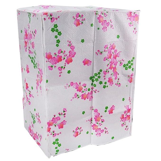 Amazon.com: - Funda para lavadora con patrón Flores ...