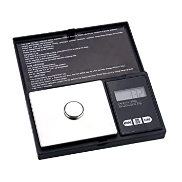 Generic Mini Pesca Pesa Digital Pocket Weight Weighing Pocket Scales 200g 0.01g for Jewelry Weighing