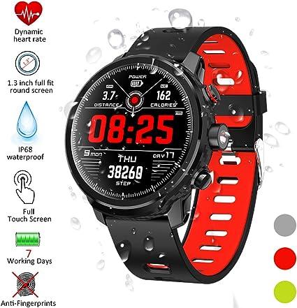 Padgene Smartwatch, Reloj Inteligente IP68 Impermeable Bluetooth ...