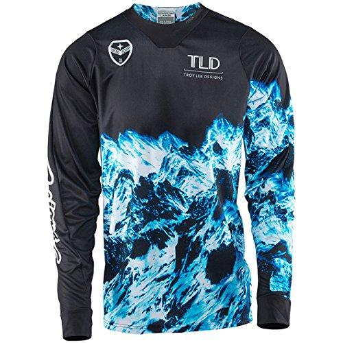 2017 Troy Lee Designs SE Gravity Jersey-Black-XL ()