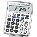 Musical Function Calculator Portable 12-Digits LCD Display Calculator with Alarm Clock and Voice Reading and Mini Instrument Desktop Senbonzakura Calculator - AR-7778