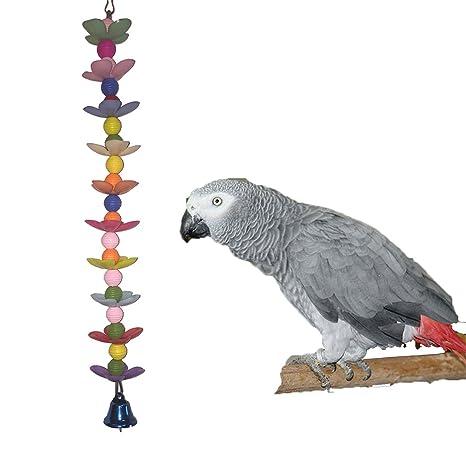 Loro Chew Toy Bird Guacamayo africana Greys Budgies periquito ...