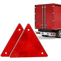 2 Piezas de camión Trasero de Seguridad triángulo