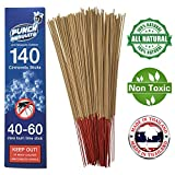 Punch Mosquito Repellent Sticks 15' Insect Citronella Lemongrass | Burn 40-60 Mins Each | STOP...