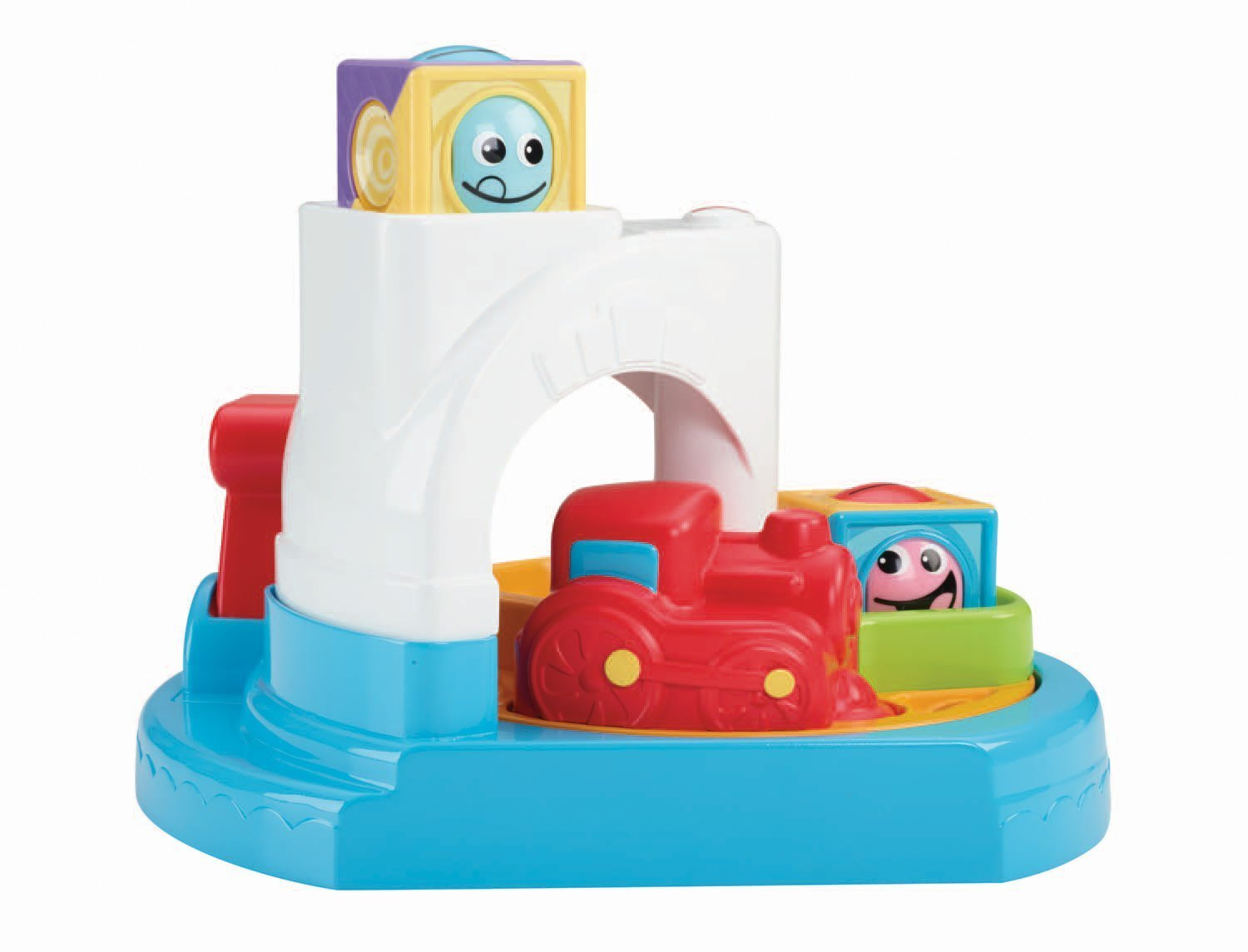 Amazon.com: Fisher-Price Roller Blocks Whirlin\' Train Town: Toys & Games