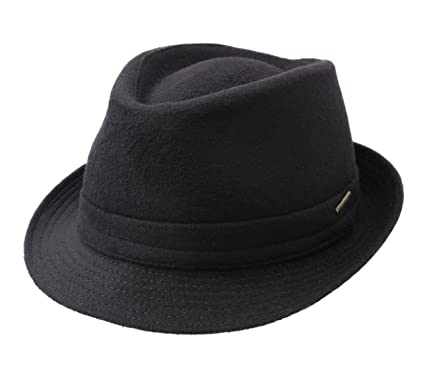 e568acbfcd311 Stetson Trilby Wool Wool Felt Trilby Hat at Amazon Men s Clothing store