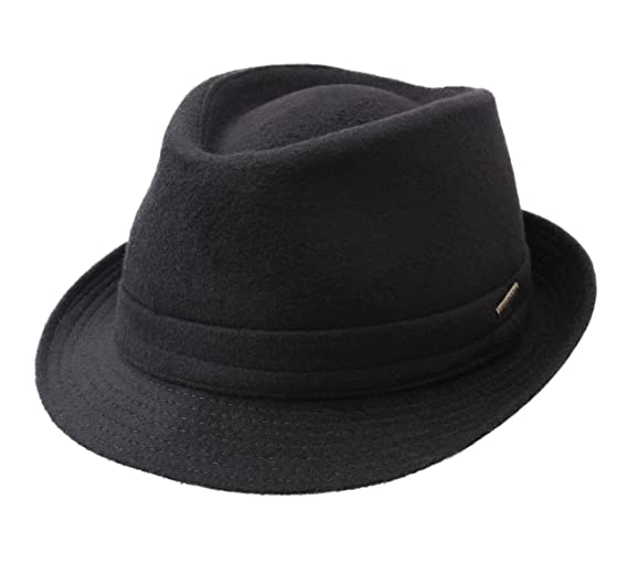 Stetson Trilby Wool Wool Felt Trilby Hat at Amazon Men s Clothing store  0ed2676dbf85