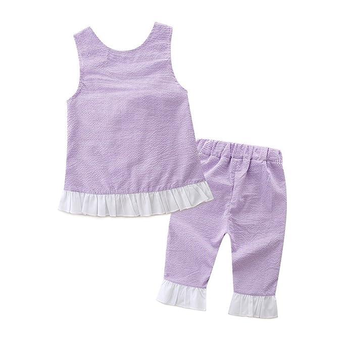 58c2dd85f37a0 Yiding - Ensemble - Bébé (fille) 0 à 24 mois Violet violet 110cm   Amazon.fr  Vêtements et accessoires