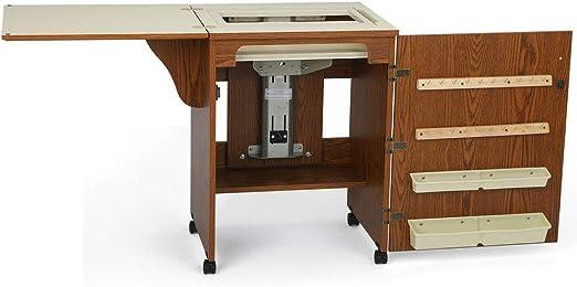 Mueble para máquina de coser- Sewnatra en Roble: Amazon.es ...