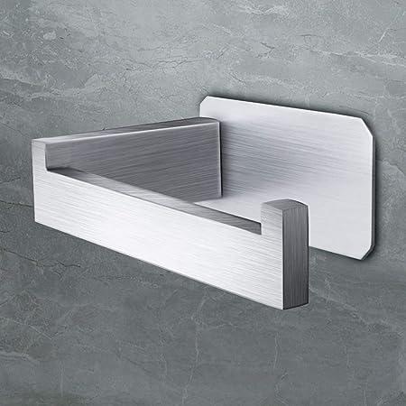 ablage Edelstahl Klopapierhalter WC Papierhalter Toilettenpapierhalter mit Glas