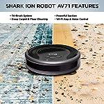 Shark ION Robot Vacuum AV751 Wi-Fi Connected, 120min Runtime, Works with Alexa, Black