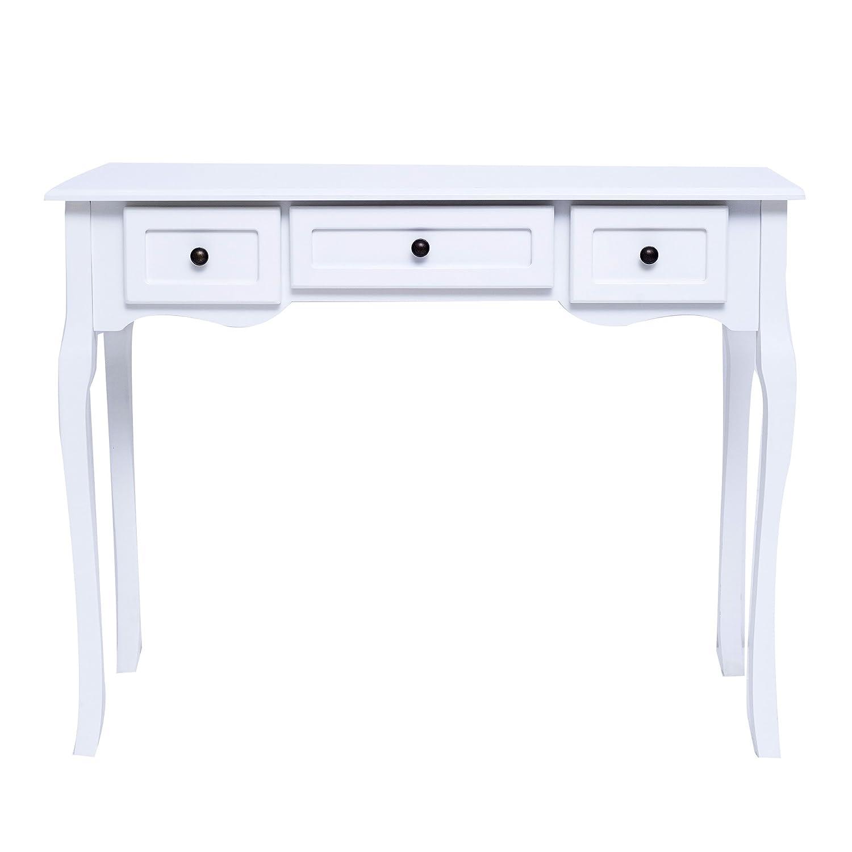 Tavolo Bianco Stile Provenzale.Toelette