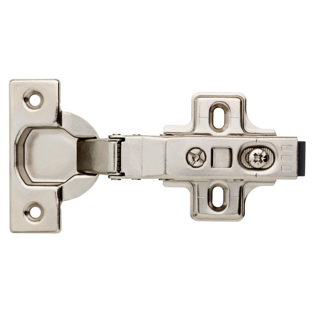 Franklin Brass H32636K-NP-R 35mm 110 Degree Full Overlay Soft-Close Hinge (12 Pack) by Franklin Brass (Image #2)