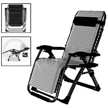 Amazon.com: Silla reclinable para patio de gran tamaño ...