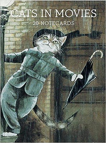 Livre numérique Cats in Movies: Notecards