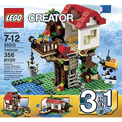 LEGO Creator 31010 Treehouse (Discontinued by manufacturer): Toys & Games