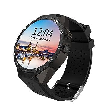 Reloj inteligente Kw88 telšŠfono Android Wifi Bluetooth Soporte Google Play GPS Map 1.39 pulgadas de pantalla del reloj SmartWatch: Amazon.es: Electrónica