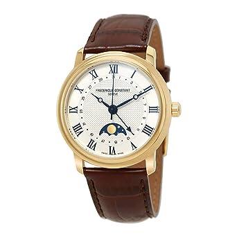 Frederique Constant Geneve Classics Moonphase FC-330MC4P5 Reloj Automático para hombres Fabricado en Suiza: Amazon.es: Relojes