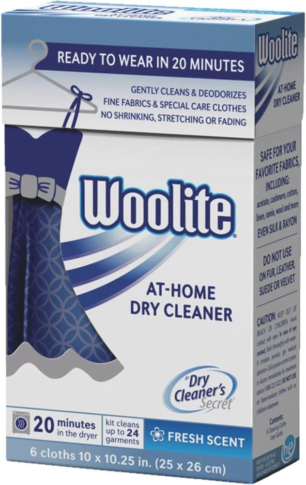 Woolite Cleaners Fresh Scent 6 Count