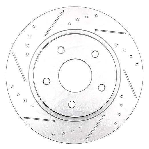 Brake Kits Scitoo Drilled Slotted Brake Rotors Discs Ceramic Brake