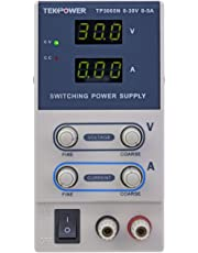 Tekpower TP3005N Regulated DC Variable Power Supply, 0 - 30V at 0 - 5A