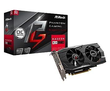 Asrock Radeon RX 570 D Phantom Gaming D OC 8GB GDDR5 Tarjeta ...