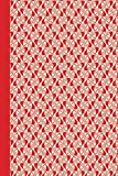 Journal: Red and White Calligraphy Hearts 6x9 - LINED JOURNAL - Journal with lined pages - (Diary, Notebook) (Hearts Lined...