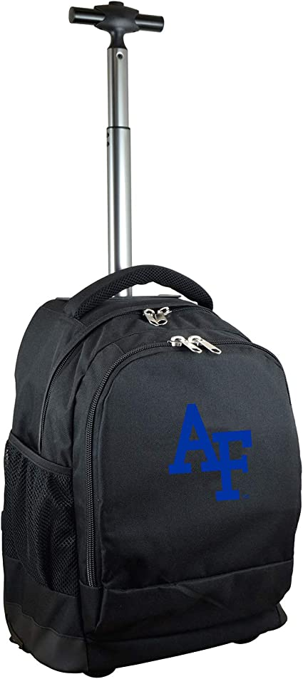 Amazon Com Ncaa Air Force Falcons Expedition Wheeled Backpack 19 Inches Black Sports Outdoors