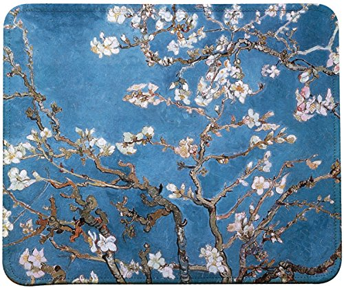 (Vincent Van Gogh Impressionist Art Mouse Pad (Almond Blossoms))