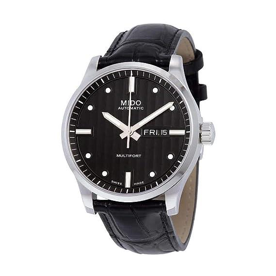 MIDO MULTIFORT RELOJ DE HOMBRE AUTOMÁTICO 42MM M005.430.16.031.81: Amazon.es: Relojes