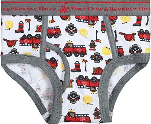 Toddler//Little Boys Beverly Hills Polo Club Boys Underwear Briefs 12 Pack