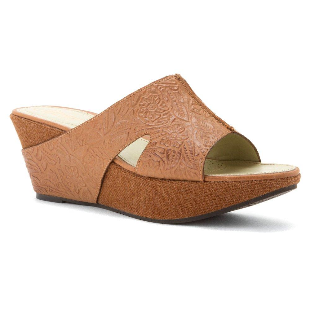 OTBT Women's Hannibal Wedge Sandal B00T7HLQ64 7.5 B(M) US|Tawny