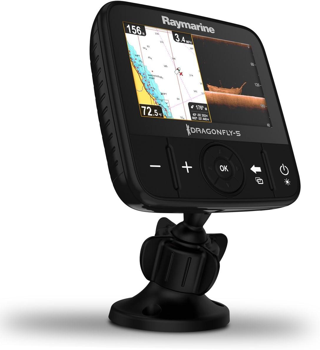 Raymarine E70295-Off De La Libélula Plotter-5M GPS con Cmap Europea Esencial Mapa De 12,7 Cm (5 Zo: Amazon.es: Electrónica