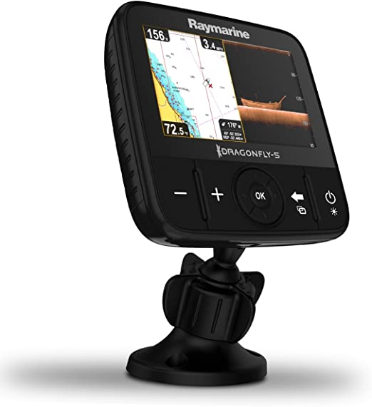 Raymarine E70295-Crow Libélula-5M GPS Trazador Gráfico con ...