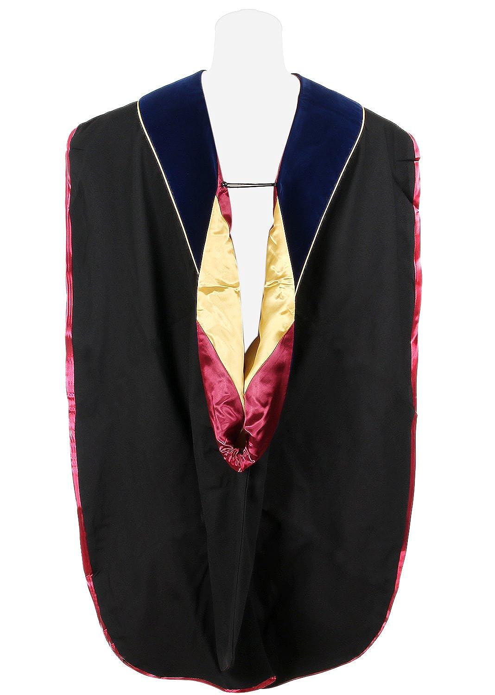 Newrara Graduation Unisex Deluxe Doctoral Hood NRRHOD3