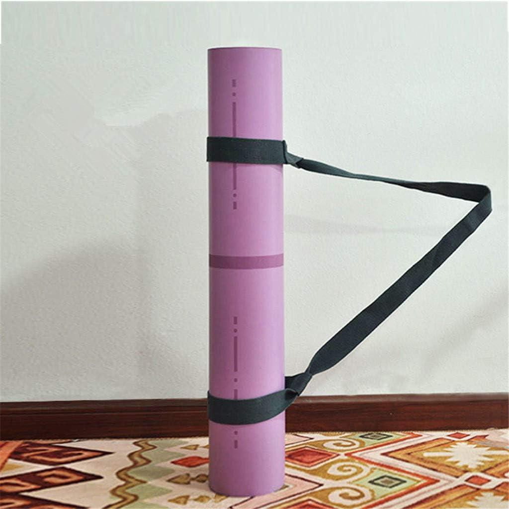 strapazierf/ähige Baumwolle Fitness Tragbare Yogamatte Bindegurt Krawatte Verstellbarer Festgurt Gym Workout Home Storage Supply JERKKY Yogamattenriemen Trageschlinge