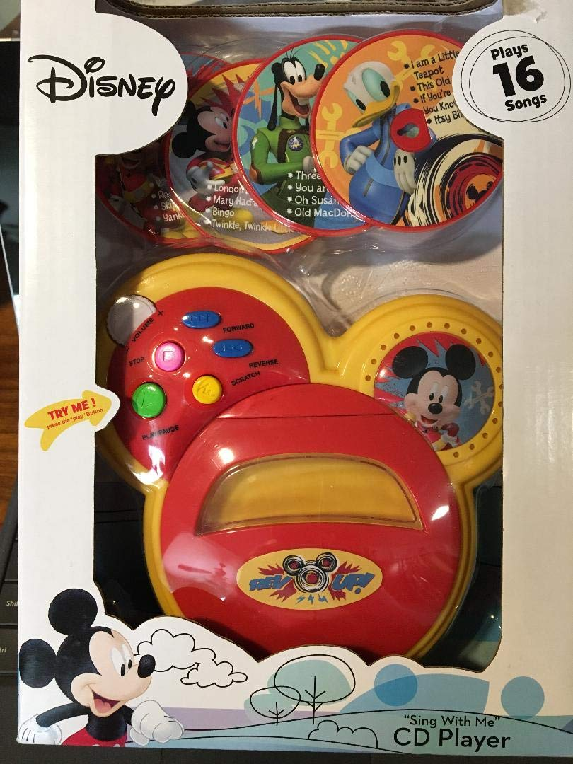 ACA Disney Mickey Mouse Sing with Me CD Player by ACA (Image #1)