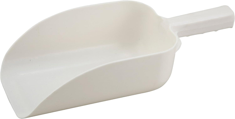 Winco White Utility Plastic Scoop, 64-Ounce
