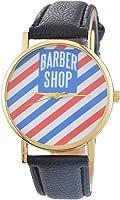Loweryeah Barber Shop Male and Female Quartz Hand Watch 24cm