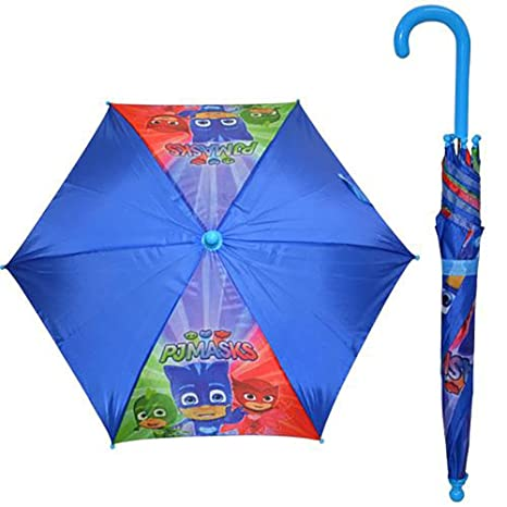 PJ Masks Kids Umbrella with Hook Handle