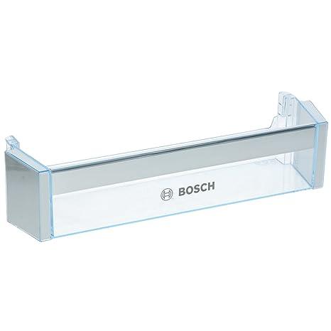 Bosch frigorífico congelador/refrigerador puerta bandeja estante botella soporte Rack