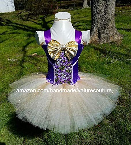 Willy Wonka Inspired Tutu Dress Costume Pageant Birthday Halloween Girls Newborn Infant Toddler Baby Outfit Onesie Shirt Bow Party Princess Kids Gift Topper Favors