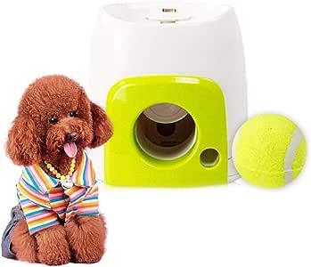 Morningtime Lanzador Automatico De Pelotas para Perros, Juguetes ...